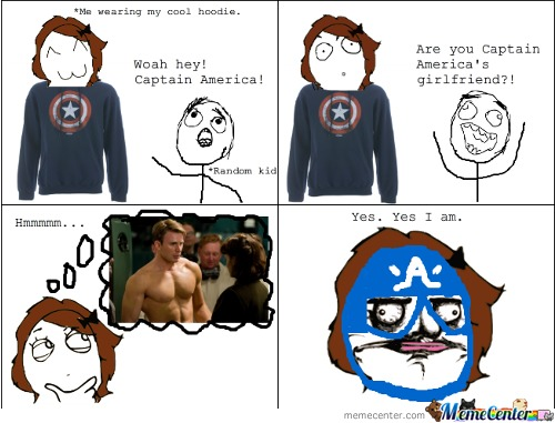 Woah Hey ! Captain America!