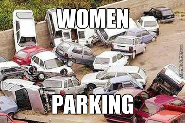 Women Parking by srle - Meme Center