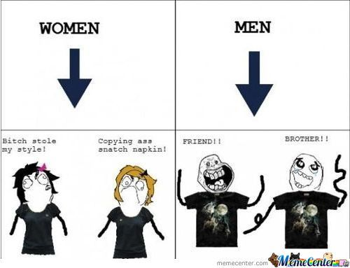 Funny Memes About Mens : Men vs women memes best collection of funny