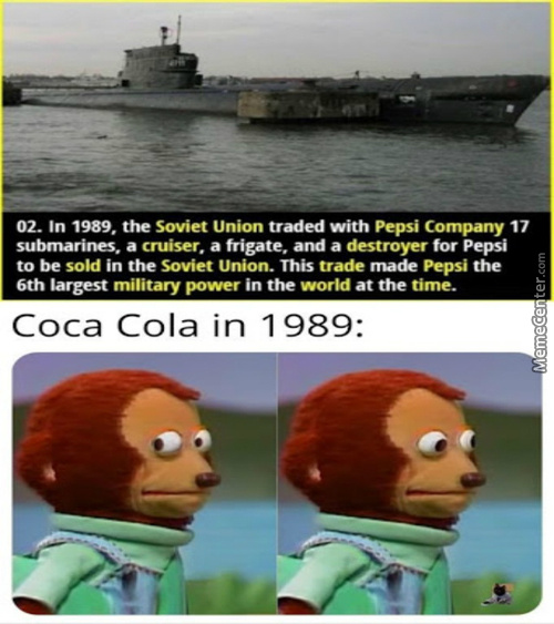 Wonder What The Pepsi Company Used Them For