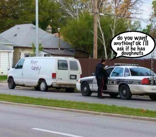 Wonder Why They Pulled Him Over