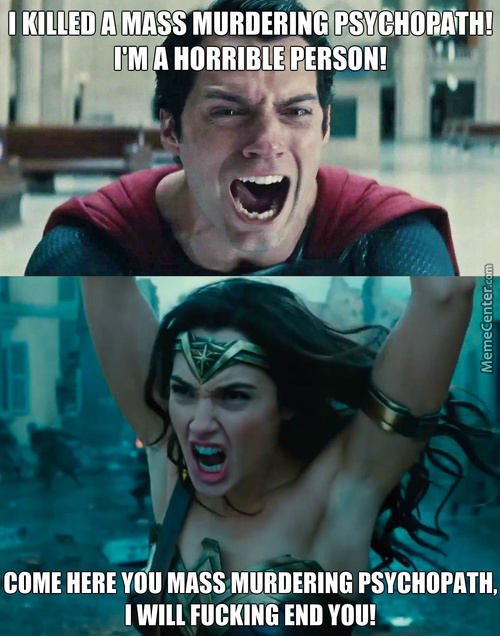 Wonder Woman Is The Real Man In The Relationship