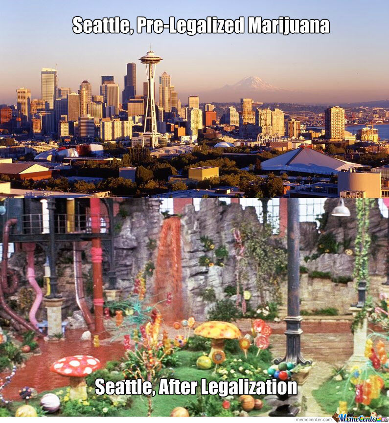 Wonka's New Seattle