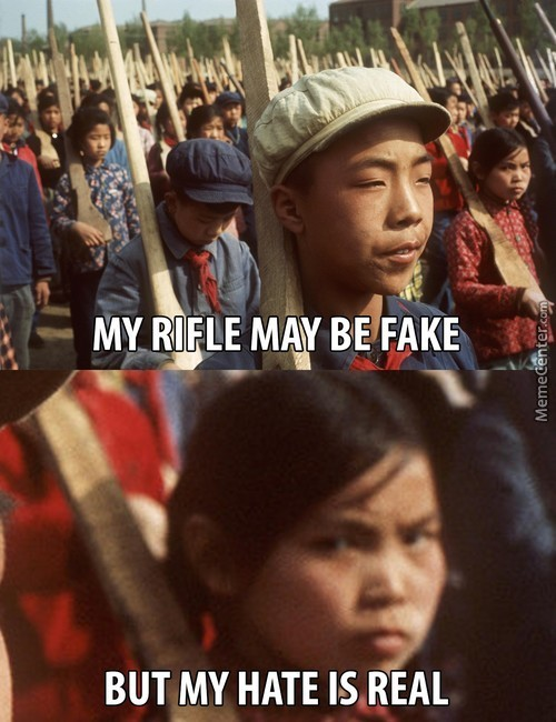 Wooden Rifles Cannot Melt Japanese Mentality