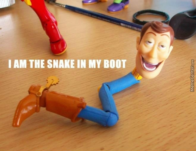 Woody High As F#@£