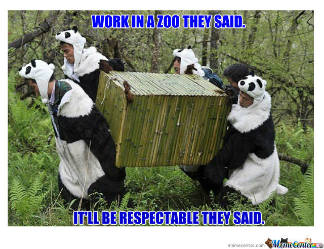 Work In A Zoo