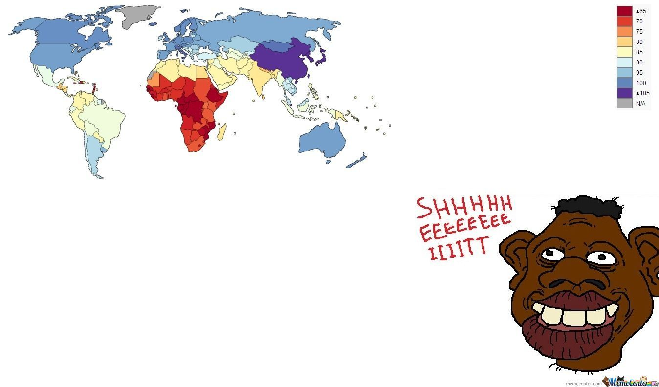 World Iq Map by yar1n - Meme Center