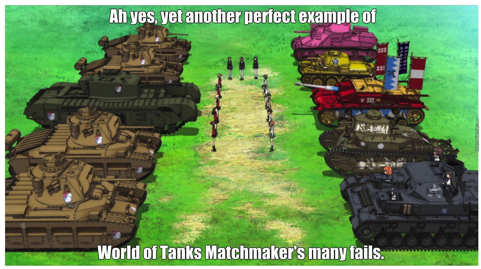 World of tanks matchmaking