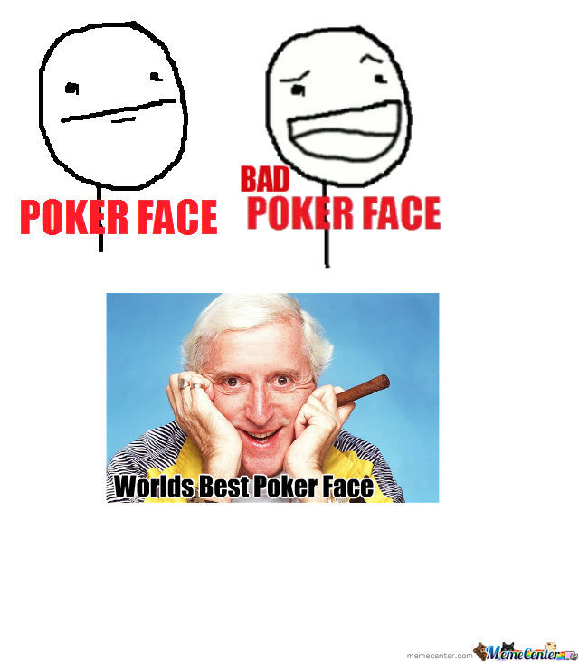 Worlds Best Poker Face