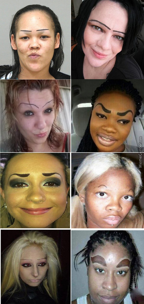 Worst Eyebrows
