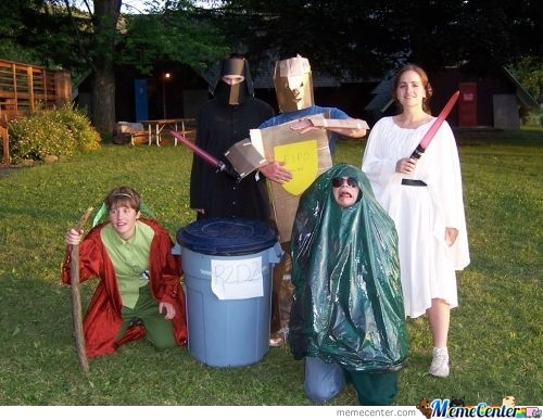 Worst Star Wars Costumes Ever.