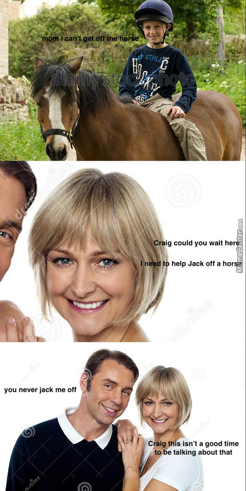 Would You Help Jack Off A Horse?