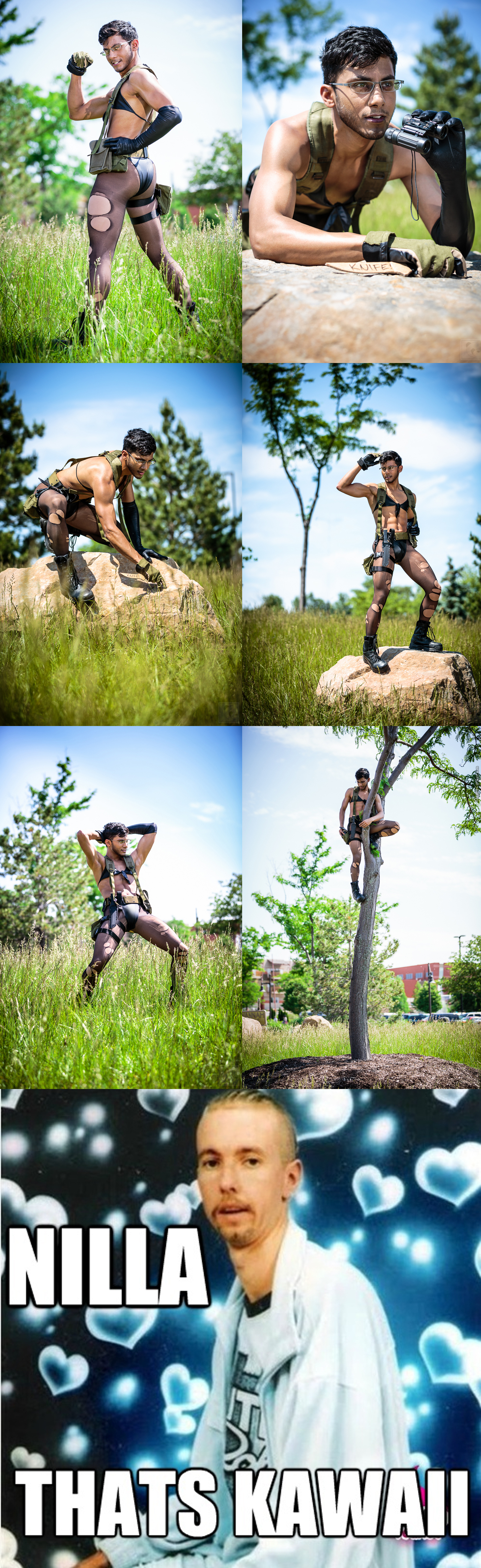 Would You Still Lick That Butt? Metal Gear Solid Cosplay