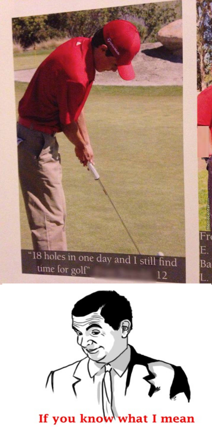 Wow Much Golf Such Smooth Very Holes