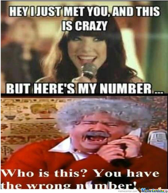 Funny Meme For Wrong Number : Wrong number by toxicsquirlz meme center
