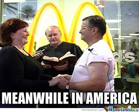Marriage in Mc Donalds