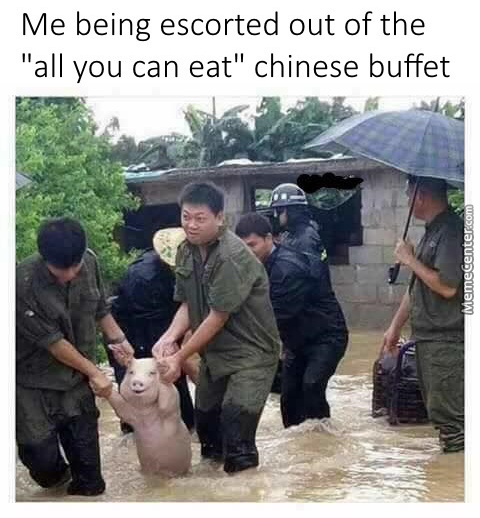 """Wtf, It's Called """"all You Can Eat"""" Or Not?"""