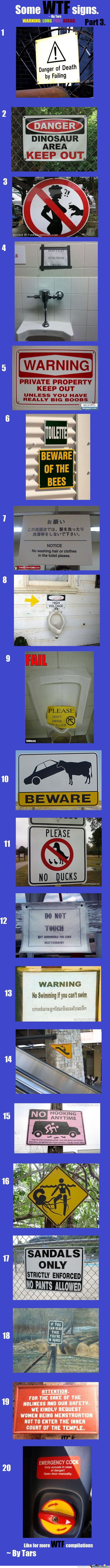 Wtf Signs Part 3