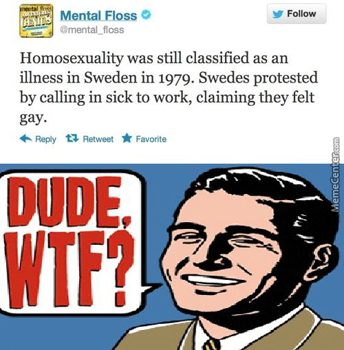 Wtf Sweden!   I Feel Pretty Gay And Cant Go To Work
