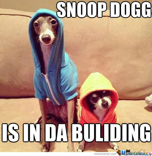 Snoop Dogg !
