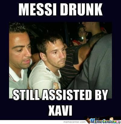 Xavi And Messi Still Better Love Story Then Twilight