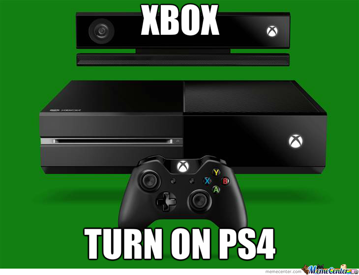 Xbox.. Turn On Ps4