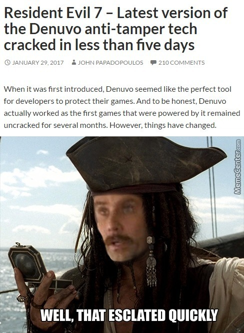Yarr Matey, Dat Was Fast With The Tide