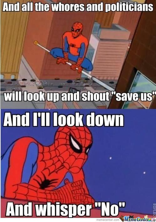 Yea I Would To If I Was Spiderman