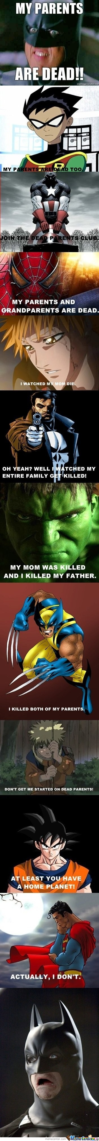 Yea Poor Batman..