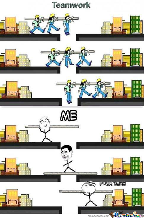 Yeah,it's All About Team Work:d