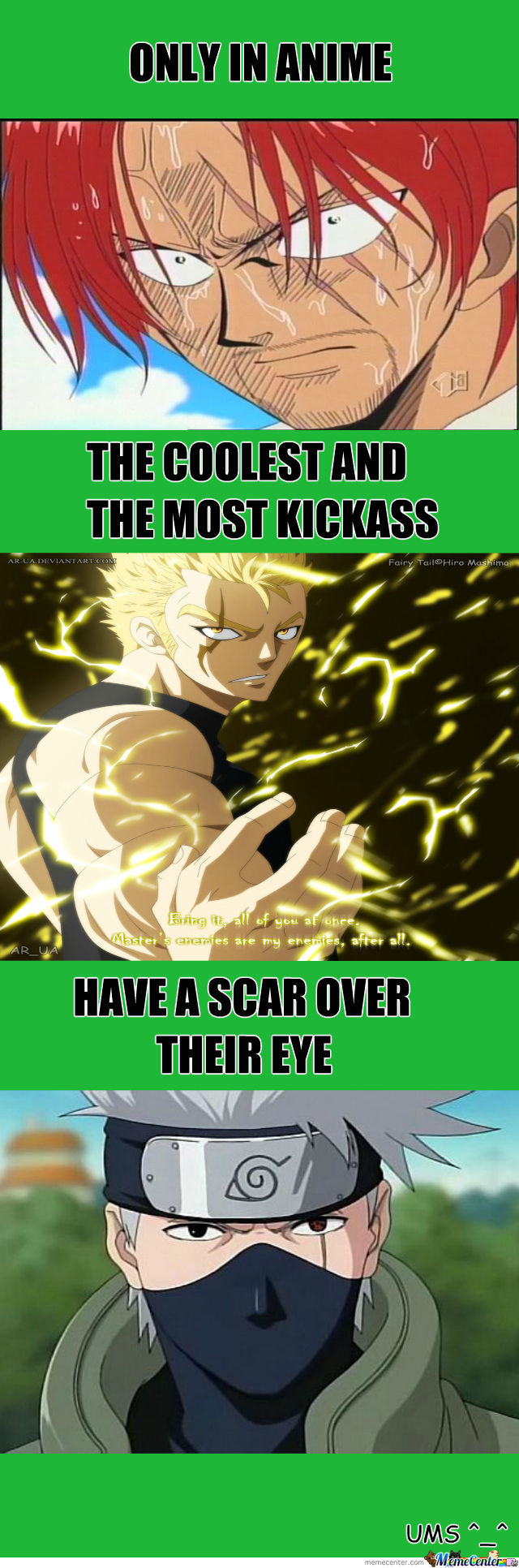 Yeah! Only In Anime