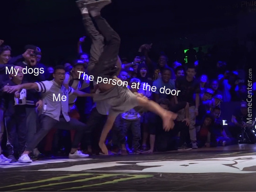 Yeah, That's How People Knock On Doors Where I Live. Also, New Template?