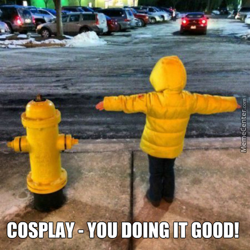 Yellow Cosplay