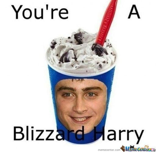 Yer A Blizzard Harry