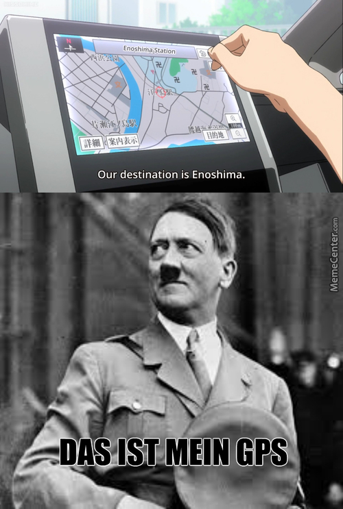 Yes I Know Those Are Temples, I'm Not Ignorant. Temples For Hitler (Anime: Himouto! Umaru-Chan)