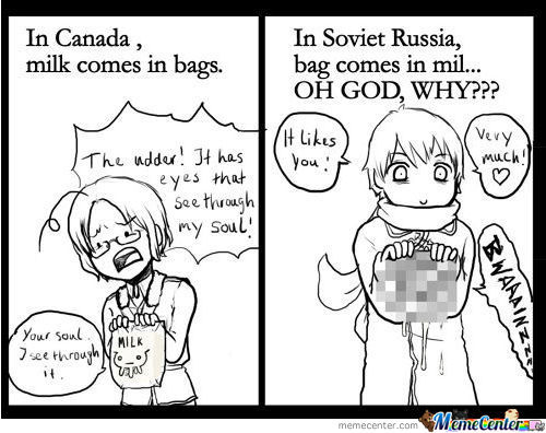 Yes, We All Love Russia...