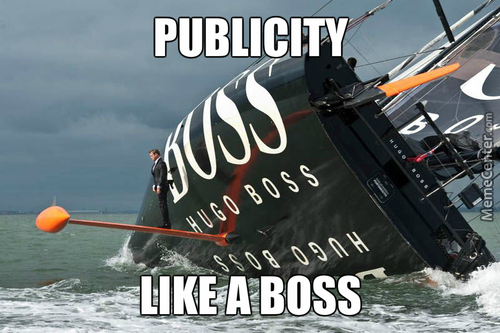 Yo Dawg, I Heard Hugo Boss Publicity Is Like A Boss.