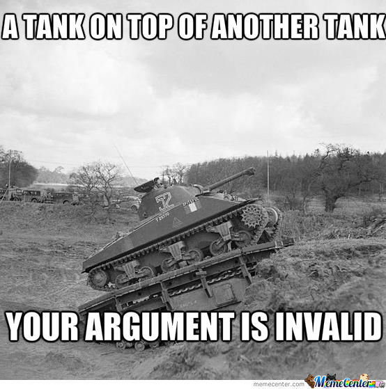 Yo Dawg, I Heard You Liked Tanks