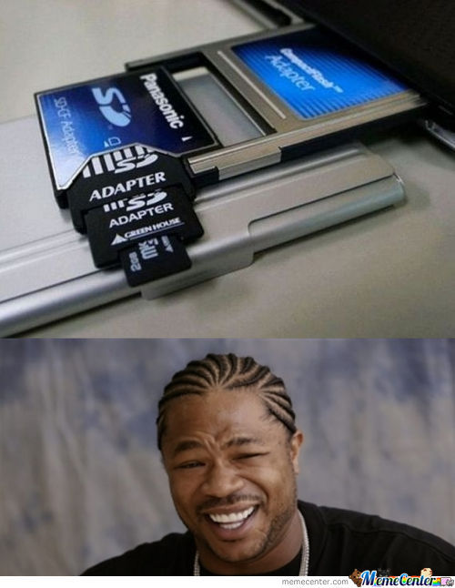 Yo Dawg So We Heard You Like Sd Cards