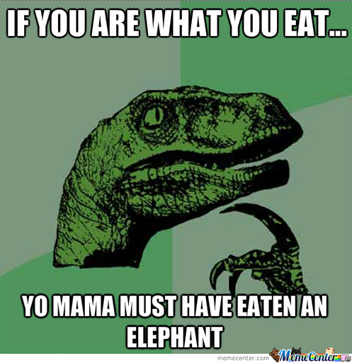 Yo Mama Is An Elephant