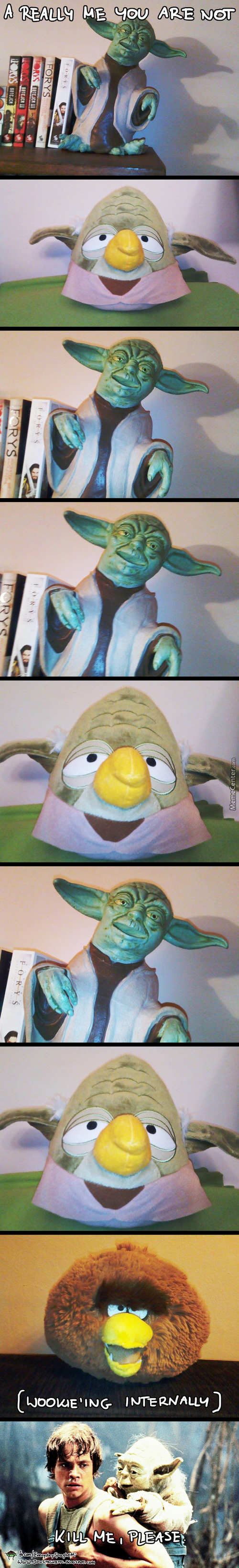 Yoda, What You Doing Are?