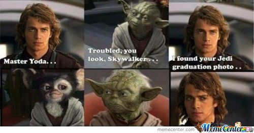 Yoda's Yearbook Photo