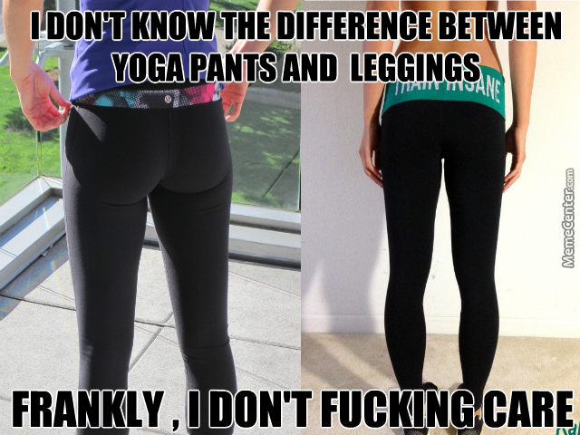 Yoga Pants Vs Leggings by ahad.sikhaki