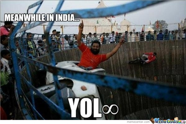 #yolo In India
