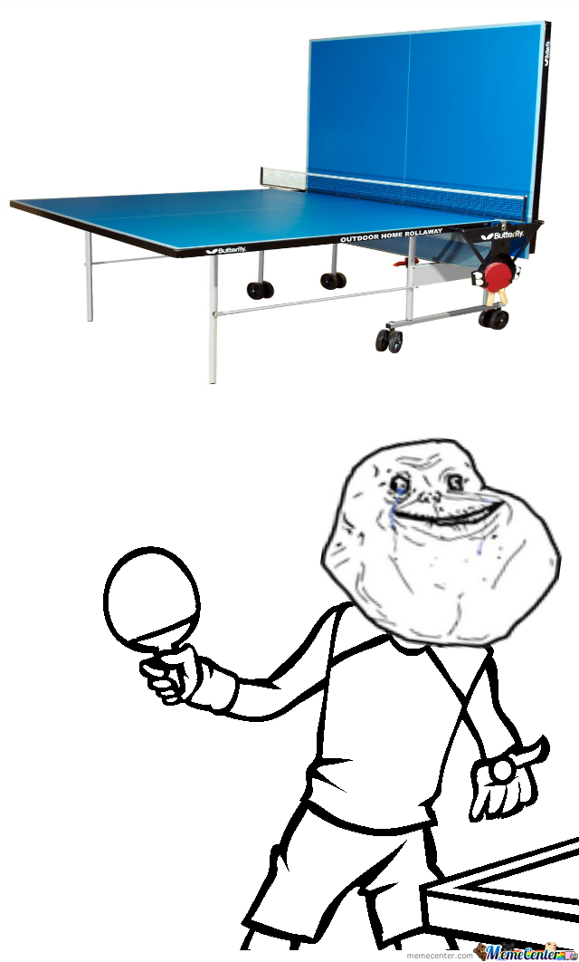 You'll Get This If You've Ever Played Table Tenis