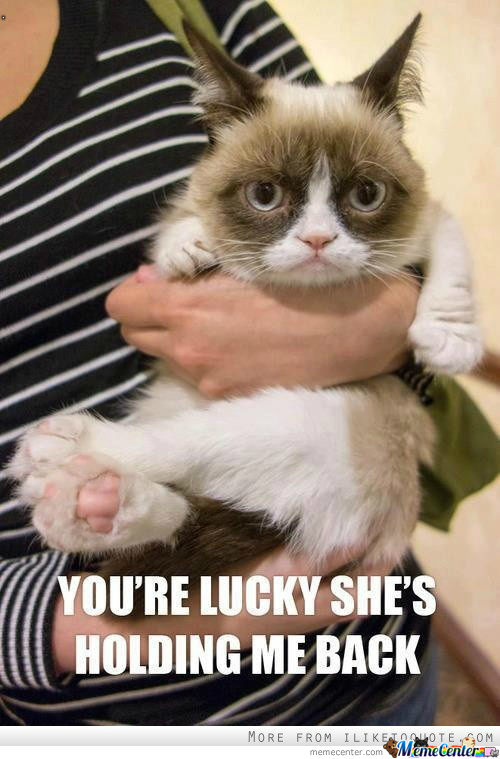 You're Lucky!