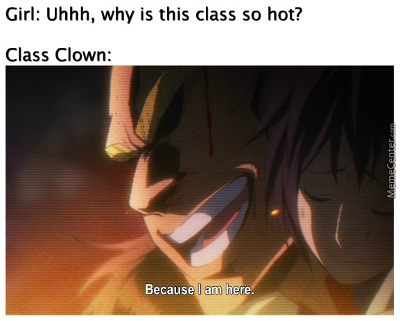 You Are Not A Clown. You Are The Entire Circus.