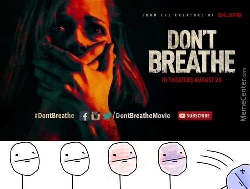 You Are Not Allowed To Breathe While Reading Or Writing Comments!