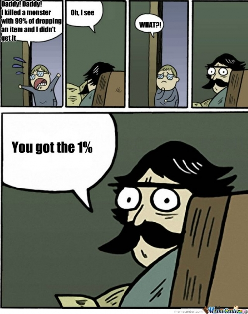 you are the 1%