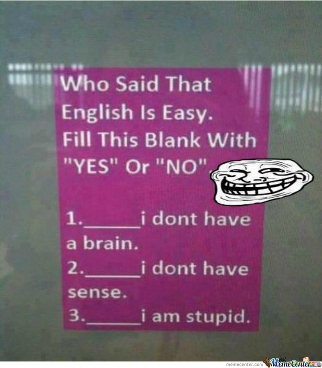 You Are Trolled